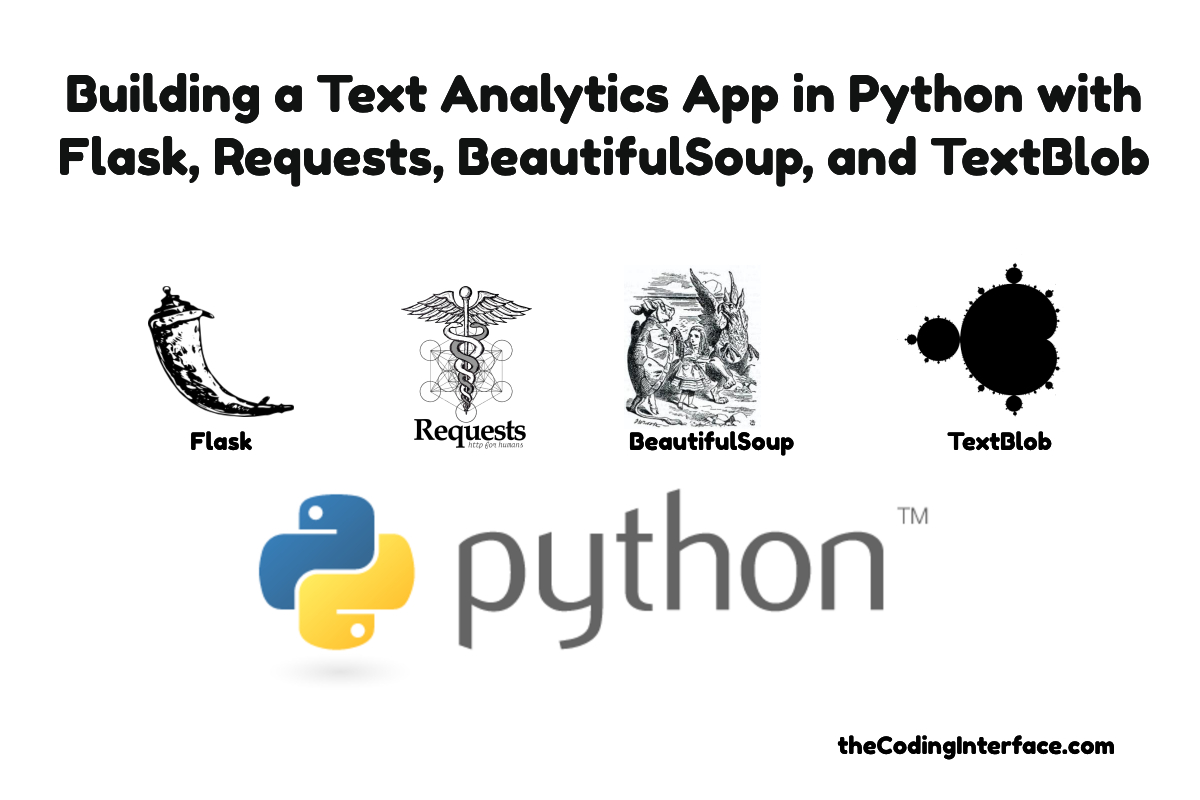 Building a Text Analytics App in Python with Flask, Requests