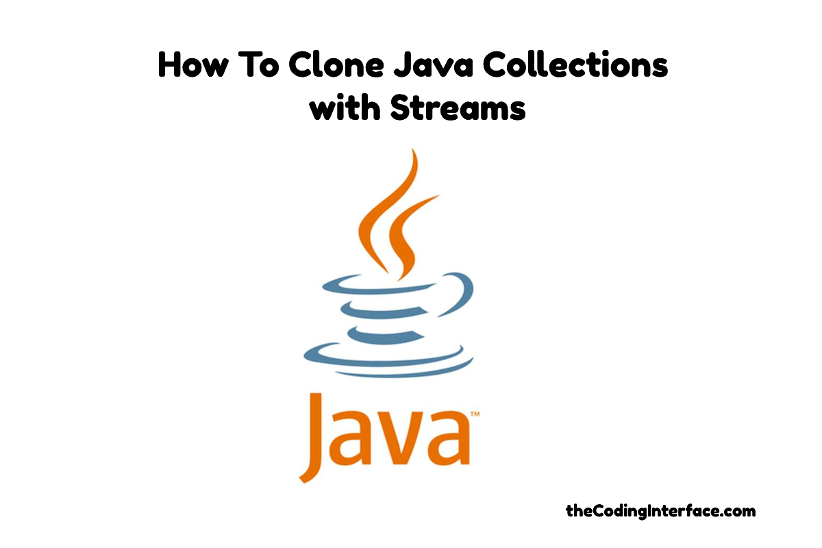 java collection stream cloning